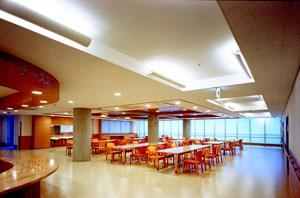 2F:食道・談話室・面会室