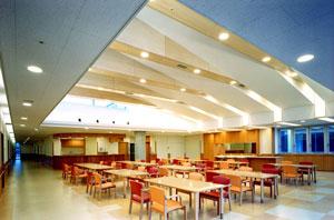3F:食道・談話室・面会室